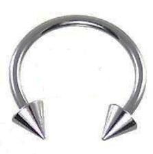 "18g~5/16""~8mm Steel Horseshoe Lip,Nipple,Earring,Septum"