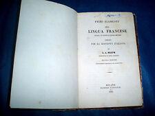 Casa Di Campagna Traduzione Francese : Libri antichi dal 1800 al 1899 in francese ebay