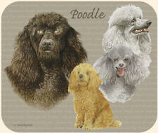 MOUSE PAD--POODLES **Beautiful**