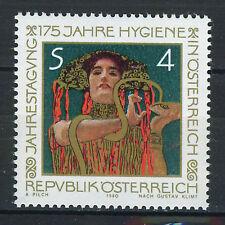 AUSTRIA 1980 MNH SC.1154 Academy teaching of hygiene ( G.Klim )