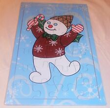 Vintage & Very Rare Mr. Bingle Snowman Puzzle New Orleans Callback