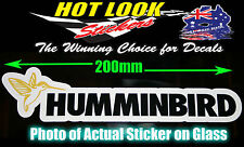 HUMMINBIRD STICKER FISHFINDER 3D GPS FISHING BOAT STICKER SUIT WINDOW BAIT
