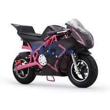 FREE SHIPPING PINK 500 WATT KID ELECTRIC MINI BIKE MOTORCYCLE 36V DB40E_P