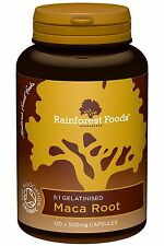 Rainforest Foods Organic Maca Root 5:1 120 capsules