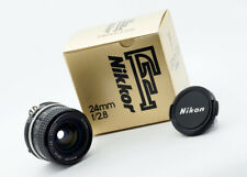 NIKON NIKKOR 24mm f2.8 AI - 1980 - MINTY BOXED EXAMPLE!