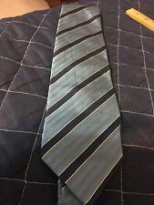 Charles Tyrwhitt Men's Necktie Striped Light and dark Blue Designer