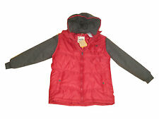 Timberland Boys Puffer Winter Hoodie Jacket Sz XL NWT $65.00 Crimson
