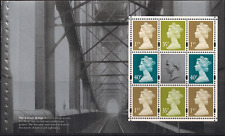 2006 GB QE2 ROYAL MAIL DX36 PRESTIGE BOOKLET PANE ISAMBARD KINGDOM BRUNEL 1668R