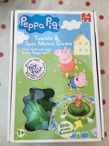 PEPPA PIG TUMBLE & SPIN MEMO GAME