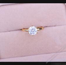 Diamantring Diamonds Ring Diamant weiß Hochzeitsring Damen Goldring LA FERANI