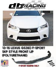 13-15 Lexus GS350 SKP Style Front Bumper Lip (F Sport Bumper Only) JDM