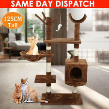 """New listing 50"""" Cat Tree Tower Furniture Scratch Post Pet Kitty Play House Bed House Resting"""