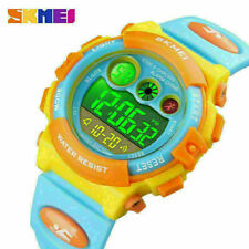 Children Digital Watches for Boys Girls Fashion Sport LED Kids Wristwatch Gift
