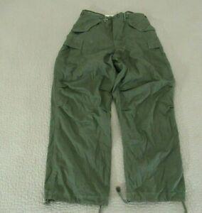 NEVER WASHED, Original OG Color Vintage US Army M-1951 Cargo Trousers, Dated '51