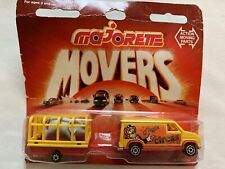 Majorette Movers Circus Van With Trailer 300 Series SEALED RARE
