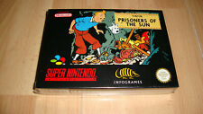 Tintin der Sonnentempel Supernintendo SNES PAL Inv-3506