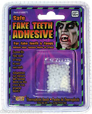 SAFE FAKE TEETH ADHESIVE THERMOPLASTIC BEADS CUSTOM FIT FAKE TEETH  FANGS EASILY