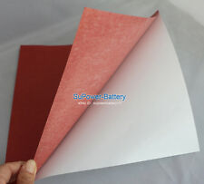 8x Fish Adhesive Paper Electrical battery Pack Insulating 24*24*0.03cm Insulator