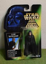 STAR WARS CARDED POWER OF THE FORCE GREEN CARD LUKE SKYWALKER JEDI KNIGHT