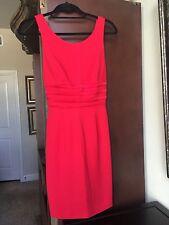 Lillie Rubin Designer Red Cocktail Dress- Stunning Open Back - Size 2