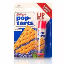 Kelloggs Pop Tarts Novelty Lip Balm Stick Retro Vintage Party Bag Filler Gift Blueberry Flavour