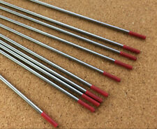 2.4mm x 150mm Red Tungsten 2% Th Thoriated DC Tig Welding Electrode