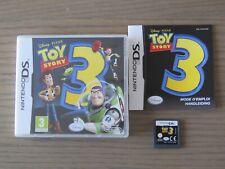 JEU NINTENDO DS 3DS DISNEY TOY STORY 3 COMPLET EN FRANCAIS