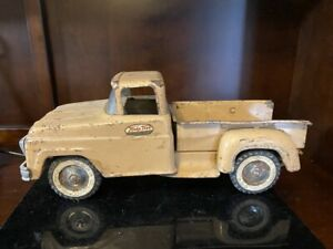 Pressed Steel 1950's Tonka Toys Stepside Pickup Truck.  10332