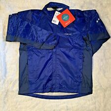 Marmot Mens Rush Precip Jacket Stellar Blue Medium - New with Tags!