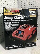 Everstart J45Tke Jump Starter w/ 120 Psi Compressor & Inverter