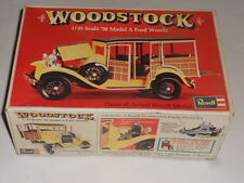 Revell 1930's Model A Woody  Woodstock - 1/25 Scale - On Trees NICE 1974