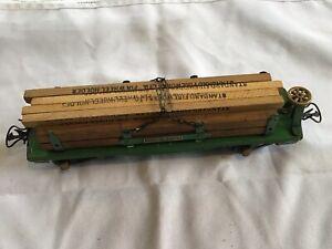 ANTIQUE AMERICAN FLYER Lumber Car