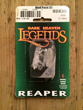 Reaper, Legends, Dark Heaven miniature: Wolf Pack (3)