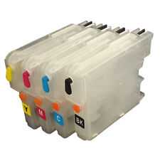For Brother LC39 LC985 LC975 DCP-J125 J315W J515W LC980 refillable ink cartridge