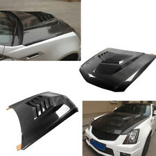 Fit for Cadillac CTS-V Coupe 11-13 Front Engine Hood Bonnet Cover Carbon Fiber