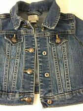 Childrens Place Toddler Girls Jean  Denim Jacket Size 12-18 M