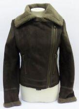 Manteaux et vestes marrons en polyester pour femme taille 38