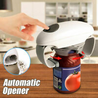 Portable One Touch Automatic Electric Opener + Free Bottle Jar Grip Mate Opener