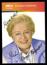 Heidi Vogel-Reinsch  Die Fallers Autogrammkarte Original Signiert TOP ## BC 185
