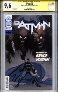 BATMAN #38 CGC 9.6 SS TIM SALE & TOM KING (1st appearance MASTER BRUCE)