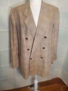 Ellen Tracy Company Oversized 100% Linen Blazer Size 12