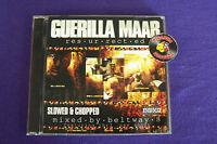 Guerilla Maab Resurrected Slowed Chopped Beltway 8 Texas Rap CD Piranha Records