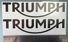 Carenado/Tanque calcomanías Autoadhesivos Para Triumph (nuevo logotipo 2014 +) (cualquier Color)