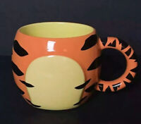 Tigger Coffee Mug Tea Cup Disney Store Exclusive Round Body NoHead 3D Coffee Cup