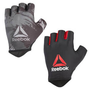 Reebok Fitness Gloves Weight Lifting Gym Workout Training Exercise Strength