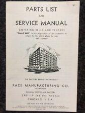PACE PARTS LIST & SERVICE MANUAL