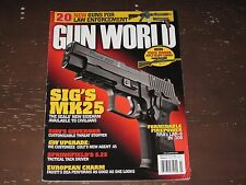 GUN WORLD MAGAZINE~~MARCH 2012~~SIG'S MK25, S&W'S GOVERNOR, SPRINGFIELD'S 5.25