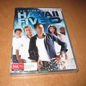 HAWAII FIVE-O - SEASON 5 ( DVD , 6 DISC SET , REGION 4 )