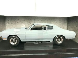 """1/18 - 1970 CHEVY CHEVELLE SS """"FAST AND FURIOUS"""" NEW - JONNY LIGHTNING"""