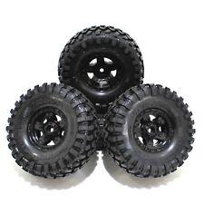 Traxxas TRX-4 Sport 1.9 Canyon Trail Tires 12mm Black 5 Spoke Wheels